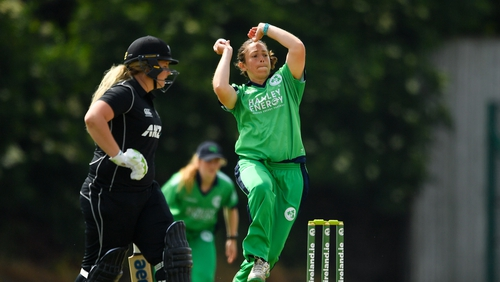 Amy Kenealy took 45 wickets for Ireland