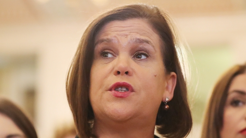 Mary Lou McDonald said SF will stand aside in South Belfast, East Belfast and North Down
