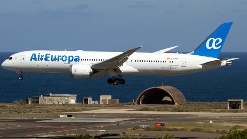 Air Europa last year carried a total of 11.8 million passengers in 2018 and ended the year with a fleet of 66 aircraft