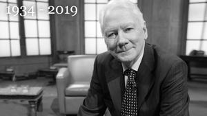 Veteran broadcaster Gay Byrne has died aged 85