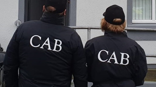 CAB officer searched the Tuam residence