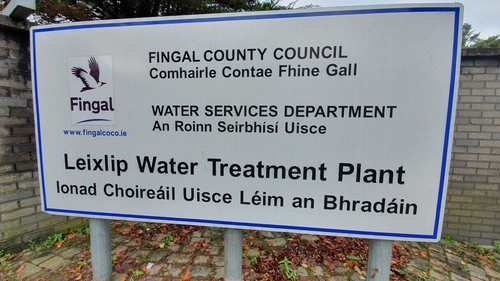 The issue at the Leixlip plant is affecting more than 600,000 Irish Water users