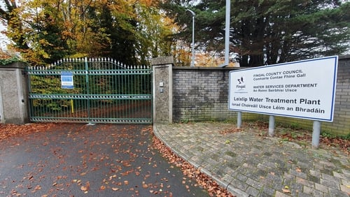 The EPA is collecting water samples at the Leixlip Water Treatment Plant in Co Kildare