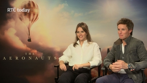 Felicity Jones and Eddie Redmayne chat about The Aeronauts