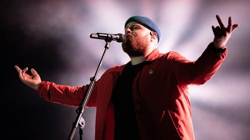"""Tom Walker: """"I get really excited about Irish gigs""""."""