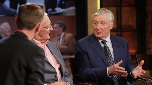 Pat Kenny with Ryan Tubridy and Mike Muprhy on The Late Late Show