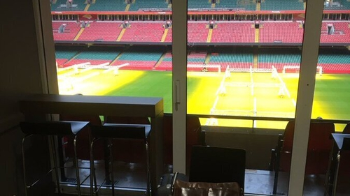 The launch is taking place at the Principality Stadium in Cardiff