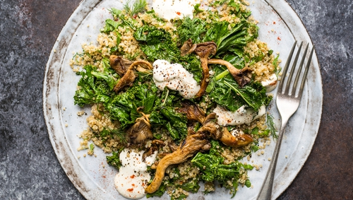 This is a fabulously filling veggie supper to satisfy even the most diehard of meat-eaters.