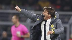 Antonio Conte wasn't happy