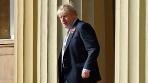 Boris Johnson left Buckingham Palace after seeking permission to dissolve parliament