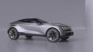 The Futuron Concept has a low profile and a high-tech interior.