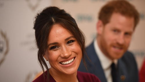 GHD hair stylist Zoe Irwin provides a step-by-step guide for how to get Meghan's look.