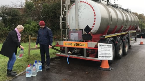 Locals in Belvelly have been making daily trips to fill up empty bottles at the Irish Water tanker for the last 15 months