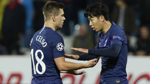 Giovani Lo Celso and Son Heung--min were both on target for Spurs