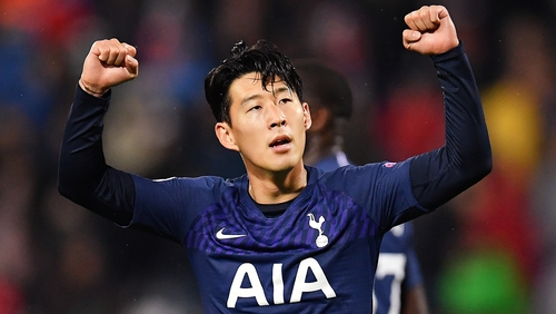 Heung-Min Son was back on song