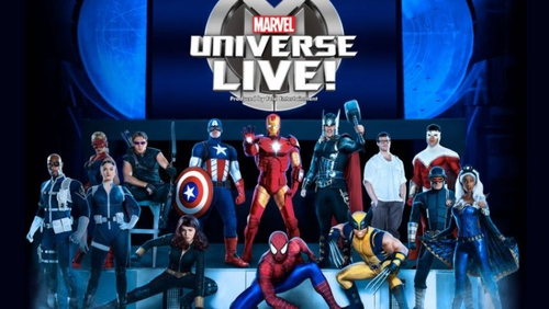 Marvel Universe LIVE! is coming to Dublin's 3Arena this month
