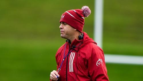 Johann van Graan at training this week