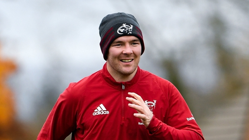 Peter O'Mahony skippers Munster