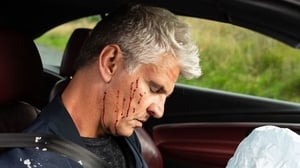 Robert is injured when he's driving home from Vicky's