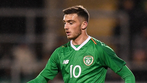 Troy Parrott will make his senior Republic of Ireland debut against New Zealand