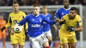 Ryan Kent was the star for Rangers