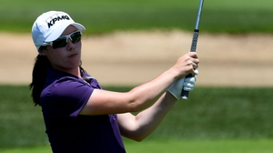 Lisa Maguire represented Europe in the Junior Solheim Cup