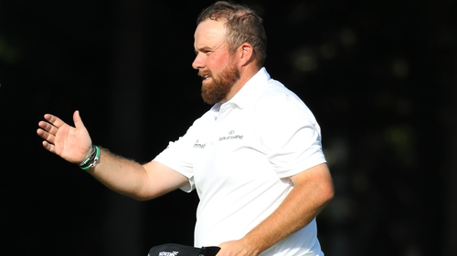 Shane Lowry moved up 27 places