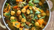 Neven's Recipes - Spicy chick pea & sweet potato curry.
