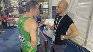 Alex Lee (Pic: Paralympics Ireland Twitter)
