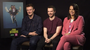 The Young Offenders star Chris Walley, Alex Murphy and Hilary Rose talk to RTÉ Entertainment