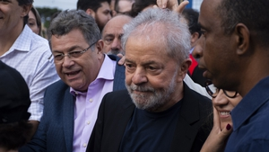 Lula's highly anticipated exit came hours after his lawyers requested the immediate release of the 74-year-old