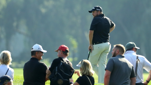 Shane Lowry fell out of the top 50 with a 75 on Saturday