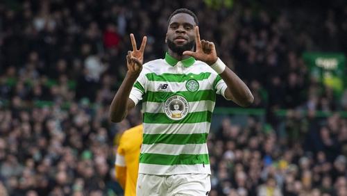 Odsonne Edouard was on target for Celtic
