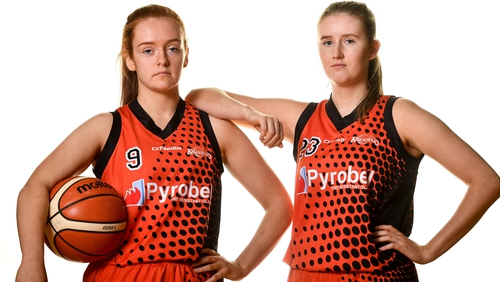 Ciara Curran and Jenna Howe saw their Pyrobel Killester side record a narrow win over Maree