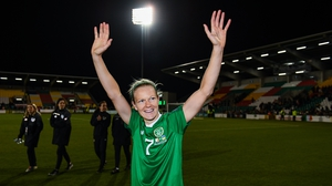 Ireland's Diane Caldwell says there's a newfound belief in the current squad