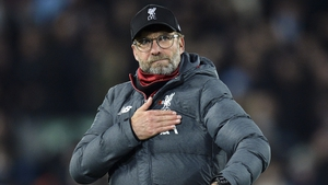 Jurgen Klopp is attempting to guide the Reds to a first league title in 30 years