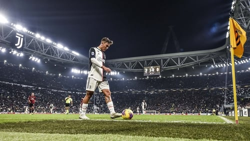 Paulo Dybala scored the only goal of the game in Turin