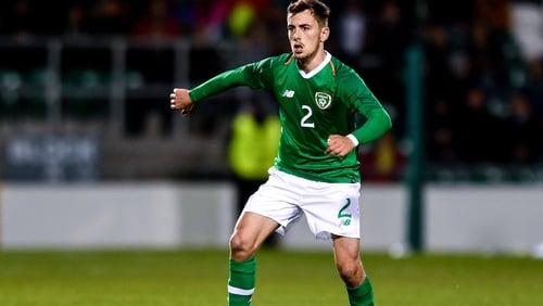 Celtic defender Lee O'Connor will make his Ireland senior debut against New Zealand