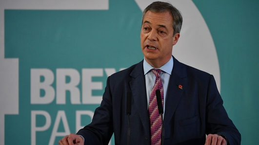 Farage says Brexit Party will not challenge Tories in 317 seats