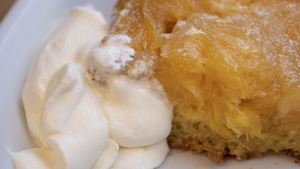 Caramelised Orange & Cardamom Cake