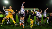 Dundalk players celebrate
