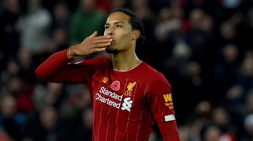 """Virgil van Dijk: """"This year is a new chance for more teams, for both of us and the only focus is the game ahead of us."""""""