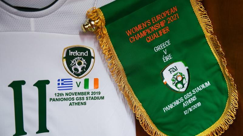 Greece v Republic of Ireland updates