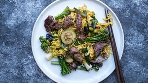 One Pan Mongolian Beef