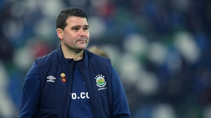 Linfield manager David Healy takes his side on the road to Poland