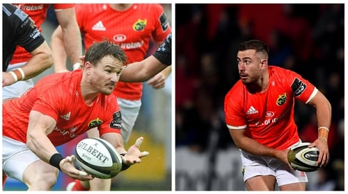 Chris Cloete and JJ Hanrahan are doubts for Munster