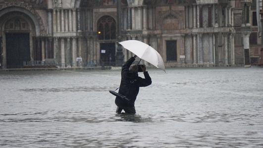 Venice hit by highest tide in more than 50 years