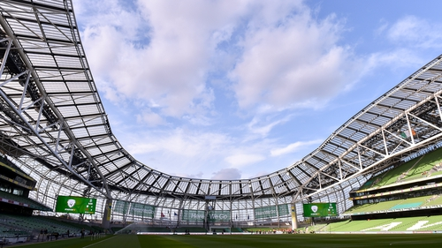 The Aviva Stadium could host World Cup games in 2030
