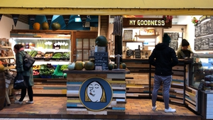 My Goodness vegan food stall at The English Market in Cork