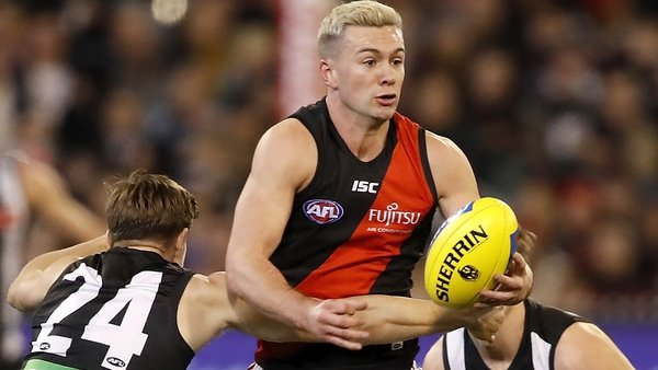 Conor McKenna in action for Essendon